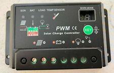 30A Solar Panel Battery Regulator Charge Controller 12V 24V Auto Switch Ship USA