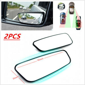 Pair Side Auxiliary Blind Spot Wide Angle Mirror Small Rearview Car Rv Van Truck