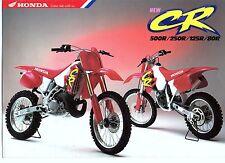 1994 HONDA  CR500RR CR250 CR125 CR80  6 Page Motorcycle Brochure NCS