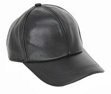 New Men's Women's100% Real Sheep Leather Hat/Golf Hats/Baseball Cap/ Visor Hat