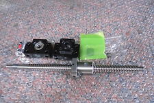 Anti-backlas RM2505-500mm Ballscrews & BF20/BF20 & 1 pcs 12*17 mm couplering