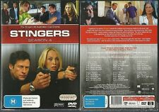 STINGERS COMPLETE SEASON 4 PETER PHELPS AUSTRALIAN COP DRAMA NEW 6 DVD SET