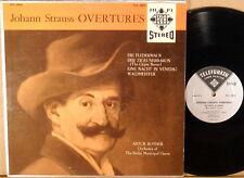 TELEFUNKEN STEREO SILVER BACK Johann Strauss ROTHER Overtures TCS-18021