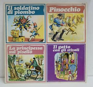 Fiabe Celebri: Soldatino Piombo, Pinocchio, Principessa sul Pisello, Gatto co...