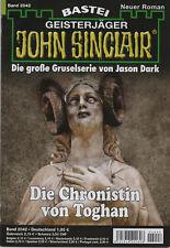 JOHN SINCLAIR ROMAN Nr. 2042 - Die Chronistin von Toghan - Eric Wolfe - NEU