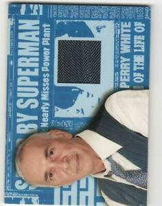 SUPERMAN RETURNS - A PIECE OF THE LIFE OF - PERRY WHITE SUIT - MATERIAL CARD