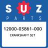 12000-03861-000 Suzuki Crankshaft set 1200003861000, New Genuine OEM Part