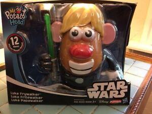 Playskool Mr. Potato Head Star Wars Luke Frywalker 12 PCS
