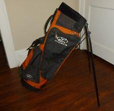 Physics Orange/Black Golf Stand/Carry Golf Bag #381