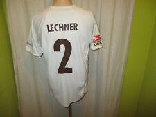 FC St.Pauli Original Auswärts Matchworn Trikot 2007/08 + Nr.2 Lechner Gr.L