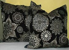 """PLUSH FEATHER FILLED ACCENT TOSS PILLOW SET 19"""" x 19"""" -  NEW"""