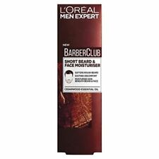 LOreal Men Expert Barber Club Short Beard Face Moisturiser Paraben Free 50ml New