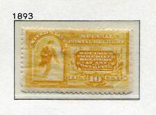1893 USA.  SPECIAL DELIVERY.  10c deep orange USED.  SG E251.  CV £41.