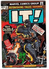 ASTONISHING TALES #21 (FN) IT! THE LIVING COLOSSUS! Marvel Bronze-Age Comic 1973