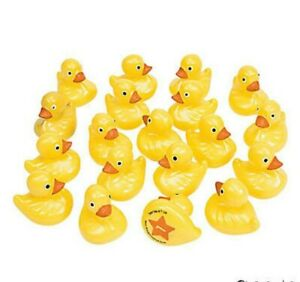 20 ~  Plastic Weighted Carnival Ducks Matching Game Ducks are Numbered on Bottom
