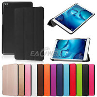 "For Huawei MediaPad M3 M5 T3 T5 7"" 8"" 10.1"" 10.8"" Tablet Slim Leather Case Cover"