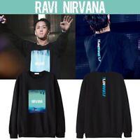 KPOP VIXX Ravi Sweater RAVI REAL LIVE NIRVANA Pullover Casual Tops Sweatershirt