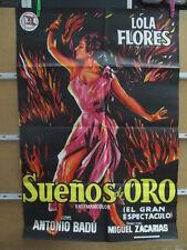 SUEÑOS DE ORO LOLA FLORES AÑO 1958