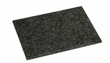 Large Heavy 100% Granite Chopping Board, Slate Black, New Kitchen Cutting Block