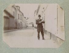 Mode Famille France en Vacances Arcachon ? Snapshot Papier citrate ca 1900