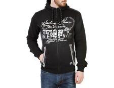 Geographical Norway Herren Zip-Sweater Schwarz Gr. S/M NEU mit Etikett +Rechnung