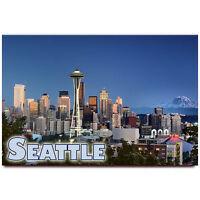 Seattle fridge magnet Washington travel souvenir