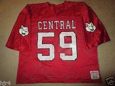Central High School Bobcats #59 CHS Football Game Worn Jersey 2XL arizona