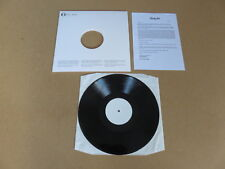 CHASTITY BELT I Used To Spend So Much Time Alone WHITE LABEL TEST PRESSING LP