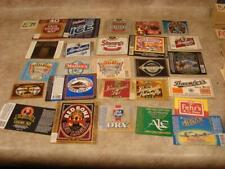 E39G Vintage Lot Of Beer Labels