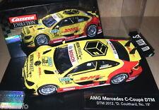Carrera 1/32 Evolution 27441 MERCEDES AMG C-COUPE #4 DHL DTM 2012 DAVID COULTHAR