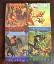 Lot of 4 PB Sisters Grimm by Michael Buckley Books 1-4 VGC S1