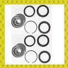Rear Wheel Bearing Seal Wsnap Ring For Subaru Forester Impreza Legacy Pair