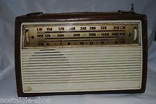 Vintage Radio Grundig in lederfassung Portable Radio Transistor Radio 50s 60s