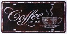 Coffee House Artistic Metal Tin Sign Retro Poster Pub Cafe Shop Wall Door Plaque