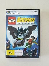 PC Game LEGO BATMAN THE VIDEOGAME - DVD GAME - WB GAMES
