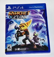 Replacement Case (NO GAME) Ratchet and Clank Playstation 4 PS4 Box
