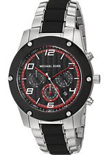 Michael Kors Caine MK8474 Black Dial Two-Tone Stainless Steel Men's Watch