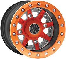 Hiper Wheel Sidewinder Wheel - 14x7 - 5+2 Offset - 4/136,4/137 - Orange 54-3333
