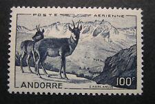 Andorre Andorra  1950 Airmail Scott C1 MLH CV $88 BX
