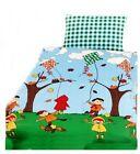 Parure De Lit Enfant Pirate Linge de lit Dragons Automne Vent 100x135 cm coton