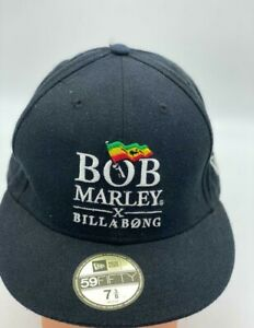 Bob Marley X Billabong 59Fifty New Era Fitted 7 3/8 Hat Cap