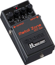 Used Boss MT-2w Metal Zone Distortion Guitar Effects Pedal