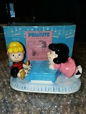 1960's Peanuts by Schulz Ufs Lucy + Schroeder Piano Music Box Fur Elise