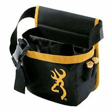 NEW BROWNING PURE BUCKMARK SHORT SHELL POUCH BLACK GOLD LOGO