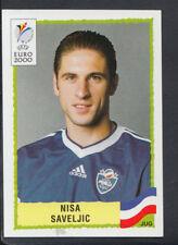 Panini UEFA Euro 2000 Football Sticker - No 218 - Nisa Saveljic (S704)