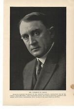 1916 Dr. Charles H Mayo - President American Medical Association Lithograph