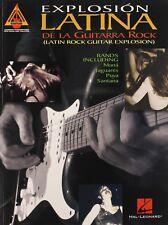 EXPLOSION LATINA-DE LA GUITARRA ROCK-GUITAR TAB MUSIC BOOK-BRAND NEW ON SALE!!