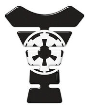 Imperial con el logotipo de Star Wars semicirculares de resina negro adhesivo Tanque Pad