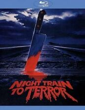 Night Train to Terror 0855011004161 With John Phillip Law Blu-ray Region a