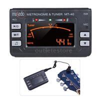 3-in-1 Metronome Tuner Tone Generator for Guitar Bass Violin Ukelele LCD